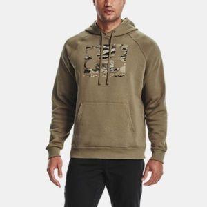 Under Armour Rival Fleece Camo Logo Hoodie (30)